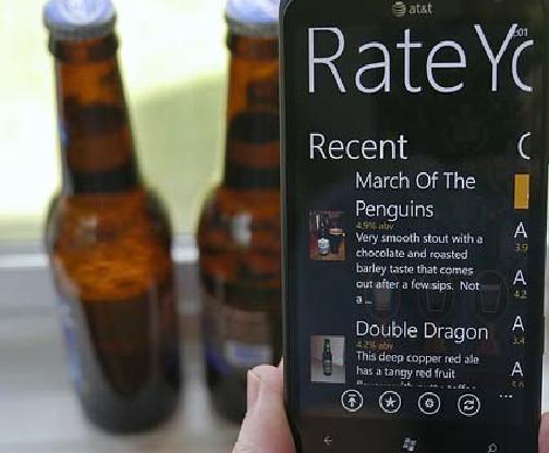 RateYourBeer для Windows Phone