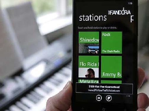 WpFandora для Windows Phone