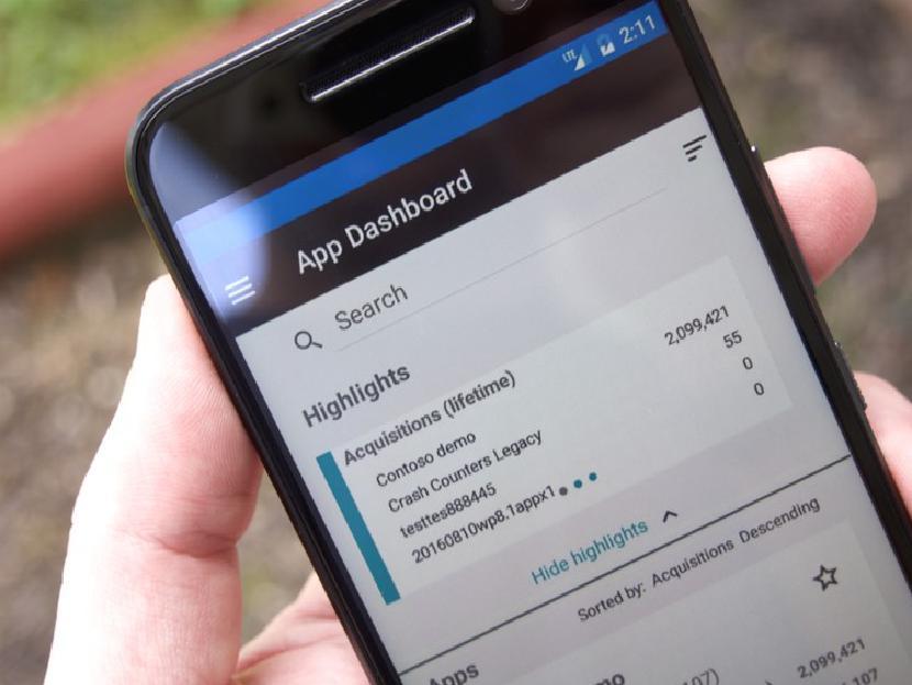 Microsoft работает над приложением Windows Dev Center для Android