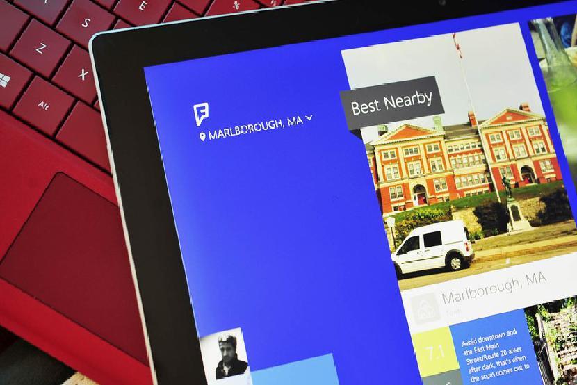 Foursquare для Windows 2014