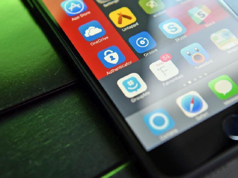 Microsoft Authenticator тестирование резервного копирования и восстановления учетной записи на iOS