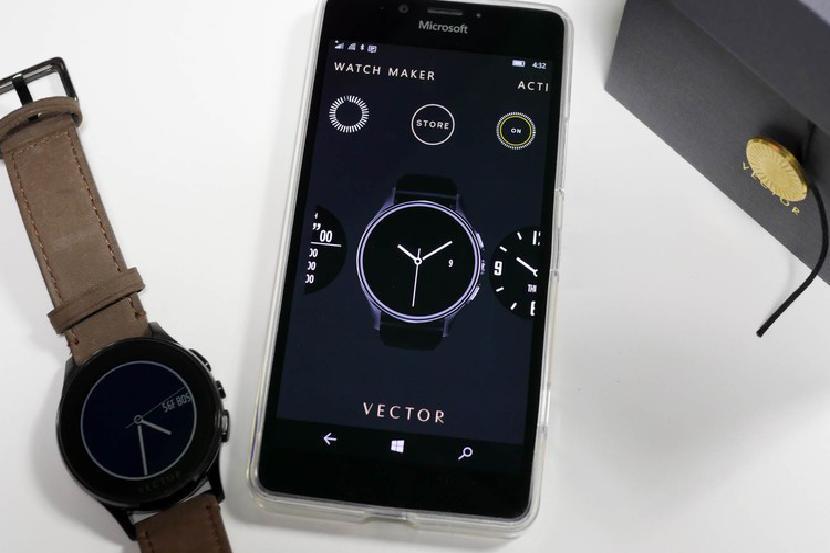 Обновление приложения Vector Watch устраняет проблемы с уведомлениями в Windows 10 Mobile Creators Update