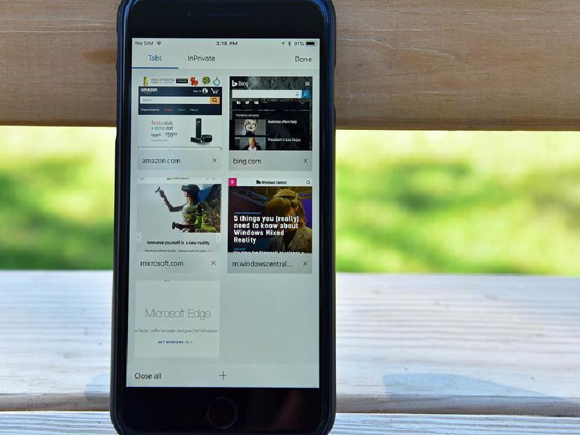 Microsoft Edge для iOS получает поддержку электронных книг