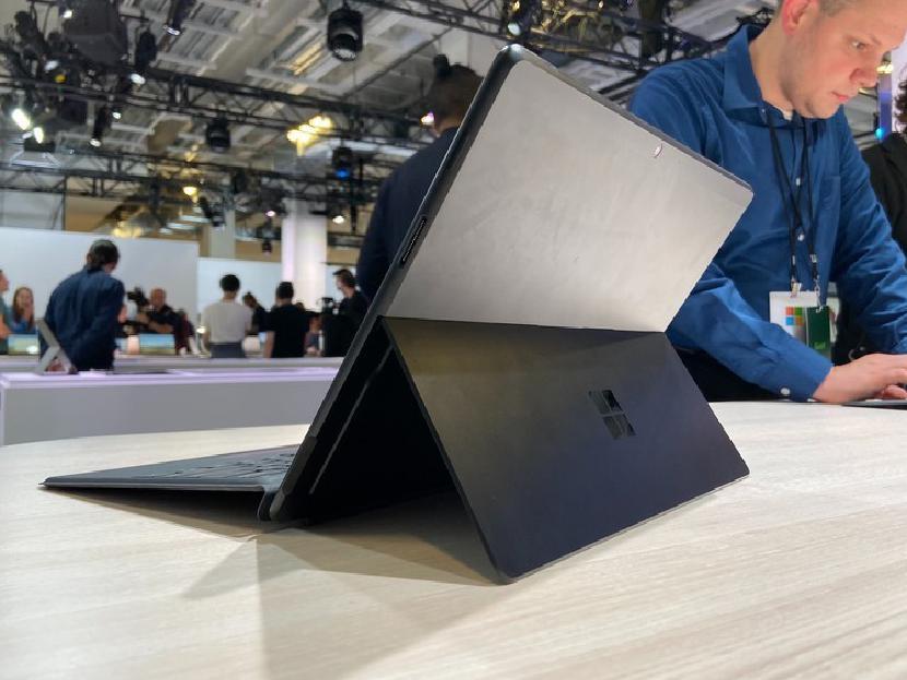 Surface Pro X back