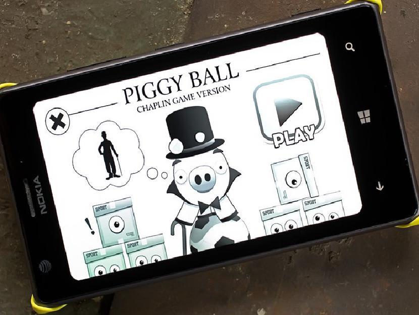 Piggy Ball - Чаплин версия игры